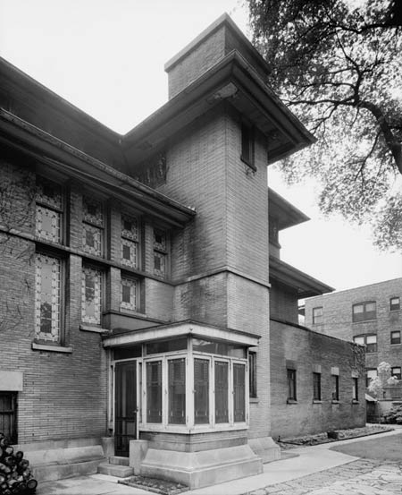 Фрэнк Ллойд Райт (Frank Lloyd Wright): Isidore H. Heller House, Chicago, Illinois (Дом Айседоры Геллер, Чикаго, Иллинойс ), 1896—1897