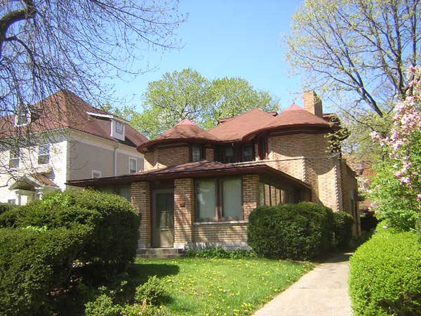 Фрэнк Ллойд Райт (Frank Lloyd Wright): George W. Furbeck House, Oak Park, Illinois (Дом Джорджа Фербека, Оак-Парк, Иллинойс ), 1897