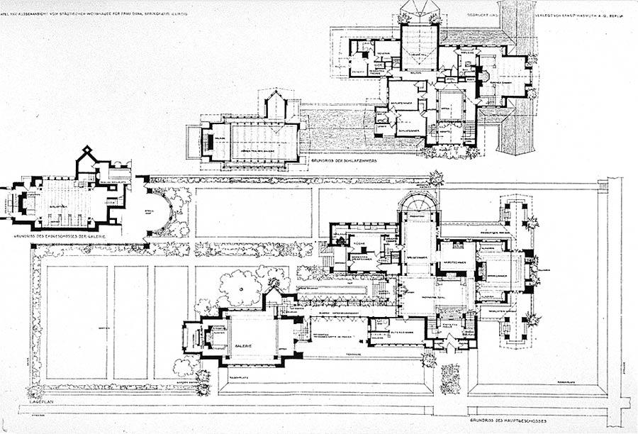 Фрэнк Ллойд Райт Frank Lloyd Wright Dana Thomas House
