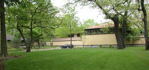 Фрэнк Ллойд Райт (Frank Lloyd Wright): Avery Coonley Coach House, Riverside, Illinois (Оранжерея и конюшни Эйвери Кунли, Риверсайд, Иллинойс), 1911