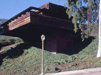 Фрэнк Ллойд Райт (Frank Lloyd Wright): George D. Sturges House, Brentwood Heights, California (Дом Джорджа Стергеса, Брентвуд-Хайтс, Калифорния), 1939