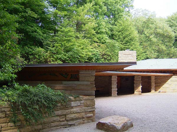 Фрэнк Ллойд Райт (Frank Lloyd Wright): Kentuck Knob (I.N. Hagan House), Chalkhill, Pennsylvania (Дом И.Н. Хейгена, Чокхилл, Пенсильвания), 1953—1956