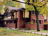 Фрэнк Ллойд Райт (Frank Lloyd Wright): Peter A. Beachy House, Oak Park, Illinois (Перестройка дома П.А. Бичи, Оак-Парк, Иллинойс), 1906
