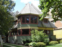 Фрэнк Ллойд Райт (Frank Lloyd Wright): Thomas H. Gale House, Oak Park, Illinois (Дом Томаса Гейла, Оак-Парк, Иллинойс), 1892