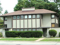 Фрэнк Ллойд Райт (Frank Lloyd Wright): Thomas P. Hardy House, Racine, Wisconsin (Дом Томаса П. Харди, Расин, Висконсин), 1905