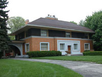 Фрэнк Ллойд Райт (Frank Lloyd Wright): William H. Winslow House, River Forest, Illinois (Дом Вильяма X. Уинслоу, Ривер-Форест, Иллинойс), 1893