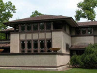 Фрэнк Ллойд Райт (Frank Lloyd Wright): Ward Winfield Willits House, Highland Park, Illinois (Дом Уорда В. Уиллитса, Хайлэнд-Парк, Иллинойс), 1901
