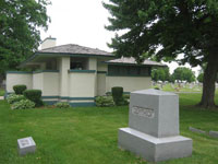 Фрэнк Ллойд Райт (Frank Lloyd Wright): William H. Pettit Mortuary Chapel, Belvidere, Illinois (Маленькая капелла, Бельведер, Иллинойс), 1906—1907