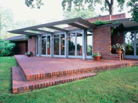 Фрэнк Ллойд Райт (Frank Lloyd Wright): Malcolm E. Willey House, Minneapolis, Minnesota (Дом Малколма Уилли, Миннеаполис, Миннеаполис), 1934