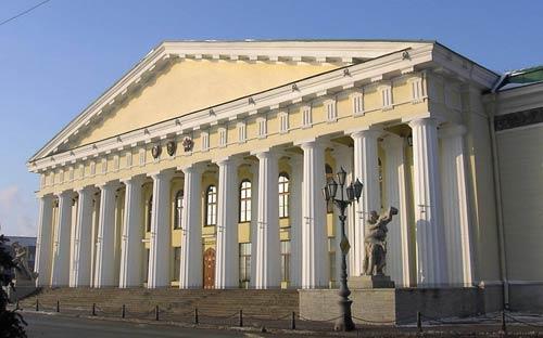 фото классицизм в архитектуре