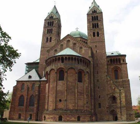 Кайзерский собор в Шпейере,