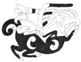 Сцена терзания из первого Пазырыкского кургана украшала седельную покрышку скифо-сакского вождя, V - IV век до н.э.