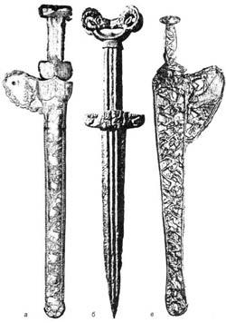 Скифский меч акинак