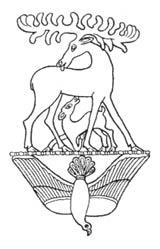 В символической картине мироздания присутствует и смерть и новая жизнь. Второй семибратний курган, V век до н.э.