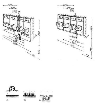Условные обозначения электросети в гражданских зданиях.