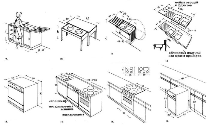 Рабочий стол с откидными