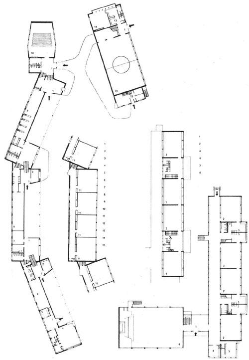 Многоэтажных школьных зданий