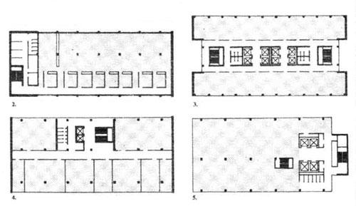 Конструктивные схемы офисных