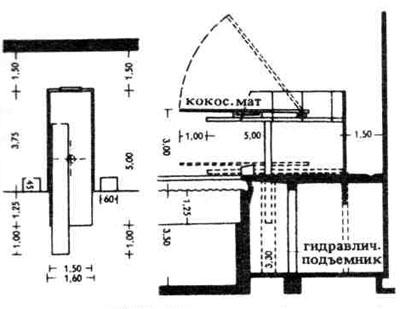 Схема планировки здания