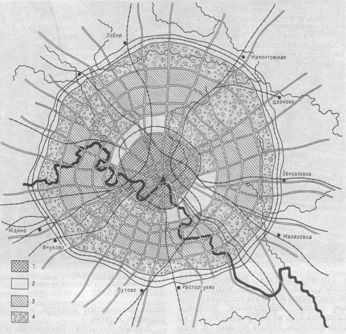 Проект большая москва 1921 – 1925 гг с