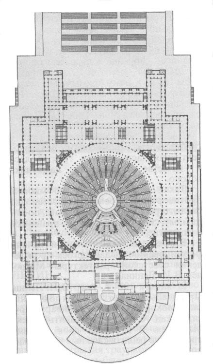 Конкурсный проект Дворца