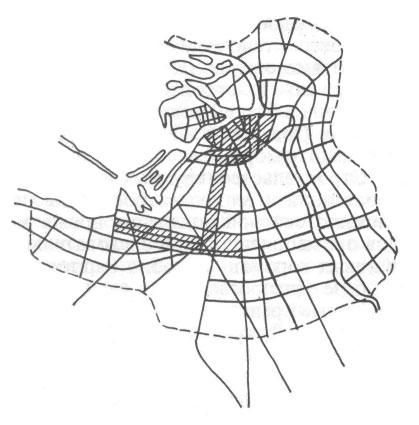 Ленинград. Схема развития