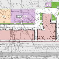 Проект 18-этажного жилого дома с общественными помещениями и подземной автостоянкой. Проектная организация: «АкадемСтрой»