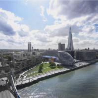 Конкурсный проект на здание Национальной библиотеки в Лондоне. Проектная организация: «АкадемСтрой». Руководитель проекта: Турецкий Б.М.; Архитектор: Губкин Р. 2015 г.
