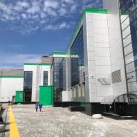 Комплекс «Центр волейбола» в Центральном районе г. Новосибирска. ООО «АкадемСтрой». 2020 г.