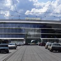 Проект торгово-развлекательного центра «Европейский»по ул. Танковая. Новосибирск. Проектная организация: «АкадемСтрой». Руководитель проекта: Турецкий Б.М. 2010 г.