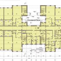 Детский сад в микрорайоне Подгорный г. Искитима Новосибирской области. План 1-го этажа | Проектирование: ООО «АкадемСтрой НСК»