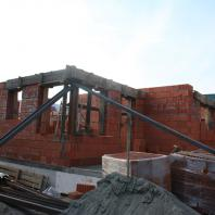 Строительство одноквартирного двухэтажного кирпичного жилого дома в г. Междуреченске. Архитектор Сергей Косинов