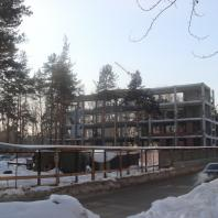 Строительство здания «Центр световых технологий». Новосибирск, ул. Новая, 28. Архитектор Сергей Косинов