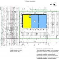 """Проект """"Subaru-центр Новосибирск"""". Схема генплана. Архитектор - Сергей Косинов. 2015"""