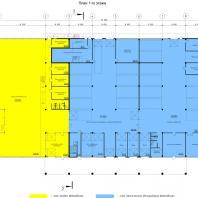 """Проект """"Subaru-центр Новосибирск"""". План 1-го этажа. Архитектор - Сергей Косинов. 2015"""